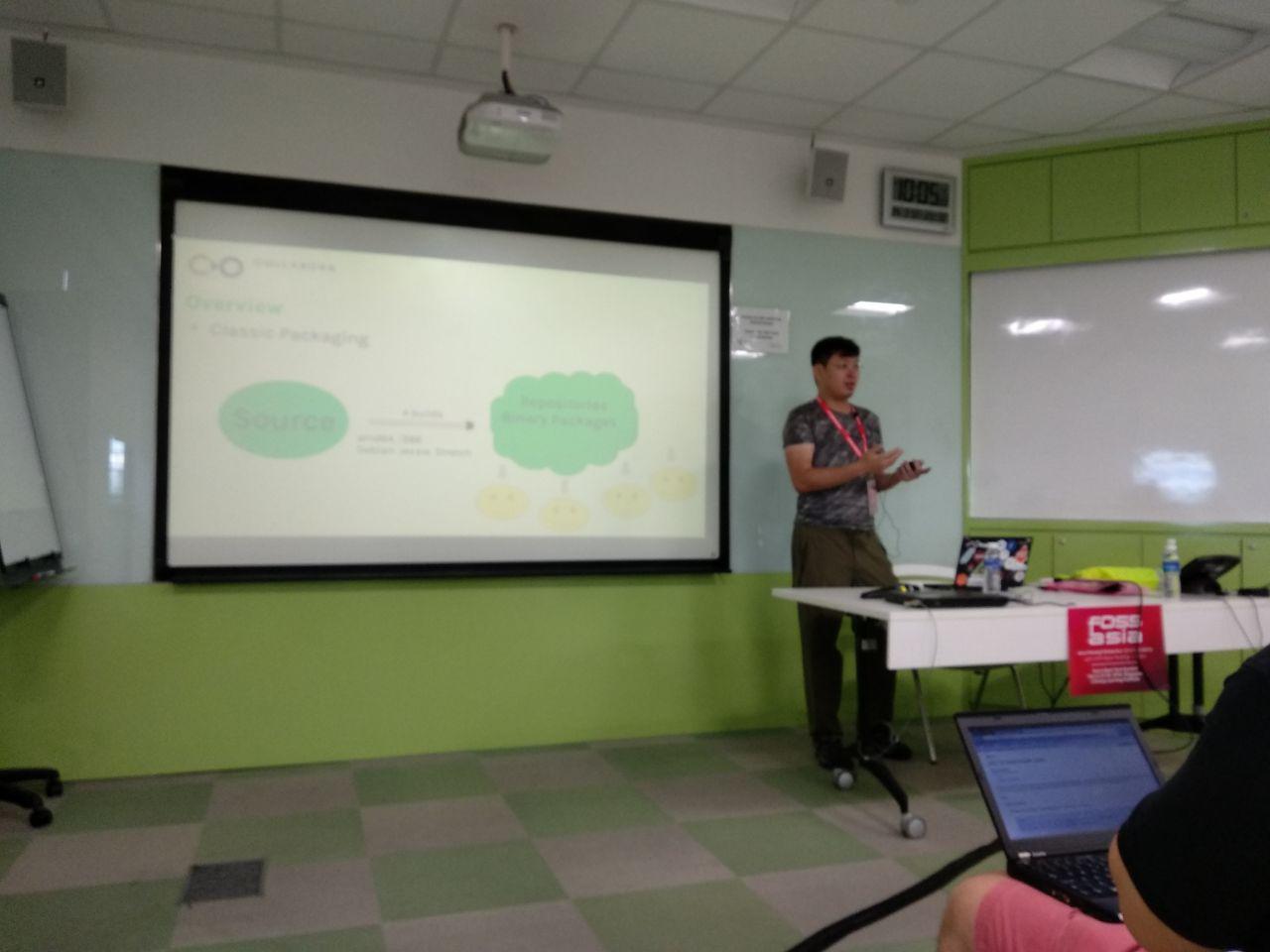 Andrew's talk